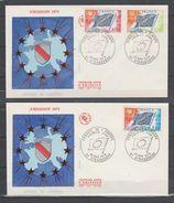 Conseil De L 'Europe  N° 46 / 48  ~ Le 22 / 11 / 1975 Strasbourg - Lettres & Documents