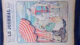 75- PARIS- REVUE LE JOURNAL- JEUDI 6 SEPTEMBRE 1900-ILLUSTRATEUR ABEL FAIVRE-TIMBRE POSTE CALECON PLAGE-WEILUC-VILLEMOT - Books, Magazines, Comics