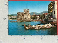 CARTOLINA VG ITALIA - RAPALLO (GE) - Castello Medioevale - 10 X 15 - ANN. 1985 - Genova (Genua)