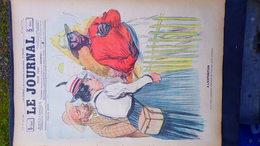 75- PARIS- REVUE LE JOURNAL- JEUDI  23 AOUT 1900-EXPOSITION UNIVERSELLE -RACISME- SANDY HOOK-VILLEMOT-HUARD-A. MAYER- - Books, Magazines, Comics