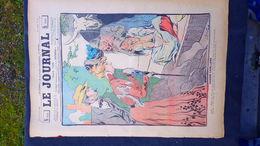 75- PARIS- REVUE LE JOURNAL- JEUDI 16 AOUT 1900-ILLUSTRATEUR F. BAC-CHASSE CAPILLAIRE -LES POUX- ALB JACK GRECE TURQUIE- - Books, Magazines, Comics