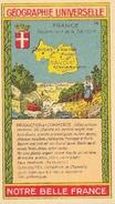 Fiche Illustrée: Département De La Savoie (Géographie Universelle, Notre Belle France) - Géographie