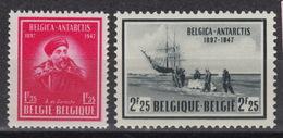 BELGIUM : Belgian Catalog 749-50 – MNH ** - Belgica – Antarctic Territory (1947) - Belgium