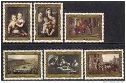 Cuba 2736/2741 ** MNH. 1986 - Unused Stamps