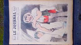 75- PARIS- REVUE LE JOURNAL- JEUDI 2 AOUT 1900-ILLUSTRATEUR ABEL FAIVRE- CHIRURGIEN- MARECHAUX-HUARD-JAN DUCH-SANDY HOOK - Books, Magazines, Comics