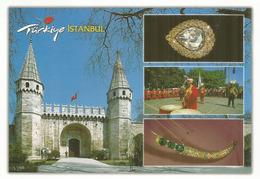 The Gate Of Salutation,Topkapı Palace.Istanbul,  Spoonmaker's Diamond,Kaşıkçı Elması) 86 Carats, Postcard - Turquie