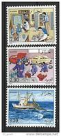 """Algerie YT 974 à 976 """" Les Métiers """" 1990 Neuf** - Algeria (1962-...)"""