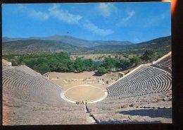 CPM Neuve Grèce EPIDAURE Le Théâtre - Greece