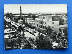 Cartolina Rimini - Viale Litoraneo - 1953 - Rimini