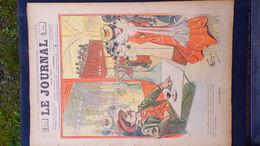 75- PARIS-REVUE LE JOURNAL-12 JUILLET 1900-AMERICAN BAR-LE RASTA-ILLUSTRATEUR WEILUC-BELLE ELEGANTE- D' ESPAGNAT PEINTRE - Books, Magazines, Comics