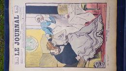 75- PARIS-REVUE LE JOURNAL-5 JUILLET 1900-REPOS ASSURE- ILLUSTRATEUR F. BAC-PROSTITUEE-PROSTITUTION-WEILUC-PREJELAN-HOOK - Books, Magazines, Comics