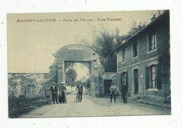Cp , 78 , MAISONS LAFFITTE , Porte Des PETRONS , Poste Forestier , Vierge - Maisons-Laffitte