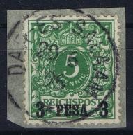 Deutsche Ost Afrika   Mi 2 Obl./Gestempelt/used - Colony: German East Africa