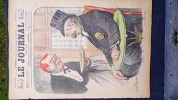 75- PARIS-REVUE LE JOURNAL-21 JUIN 1900-ILLUSTRATEUR ABEL FAIVRE-AU BAR TERRASSE SERVEUR BIERE SIROP-BRASSERIE-WEILUC- - Books, Magazines, Comics
