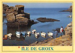 """¤¤  -  ILE-de-GROIX    -   L'Anse De Saint-Nicolas Et Le Rocher De """" La Vache """"    -  ¤¤ - Groix"""