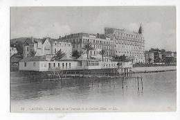 06  -  CPA  De  CANNES  -  Les  Bains  De  La  Croisette  Et  Le  Carlton  Hôtel  En  1911 - Cannes