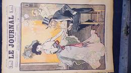 75- PARIS-REVUE LE JOURNAL-7 JUIN 1900-ILLUSTRATEUR F. BAC-ARTHUR- MAITRESSE LA RUE DES NATIONS- D'ESPAGNAT-O. GUE-JACK - Books, Magazines, Comics