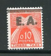 ALGERIE- Taxe Y&T N°55- Neuf Avec Charnière * - Algerien (1962-...)