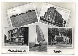 MAREBELLO DI RIMINI VEDUTE VIAGGIATA FG - Rimini