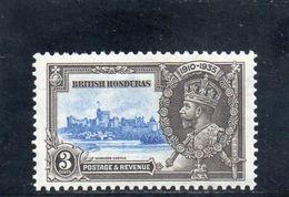 HONDURAS 1935 * - British Honduras (...-1970)