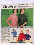 """Catalogue Publicitaire """"Casino"""" Automne 1959 - Publicités"""
