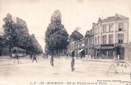 (59) Roubaix - Bd Boulevard De Paris Vers Le Parc - Roubaix