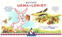 "U L/Buvard ""Chocolat Ugma Loriot ""   (Format 20 X 12) (N= 1) - Chocolat"