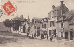 VILLERVILLE : PLACE DU MARCHE . - Villerville