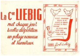 PO L/ Buvard Potage Liebig   (Format 20 X 14)  (N= 1) - Potages & Sauces