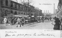 CPA - STRASBOURG (67) - Aspect Du Marché Aux Puces En 1898 - Strasbourg