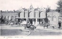 (59) Cambrai - La Gare - Attelage - Cambrai