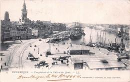 (59) Dunkerque - Vue Générale De La Ville Et Des Quais 1904 - Dunkerque