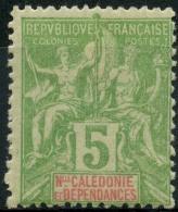 Nouvelle Caledonie (1900) N 59 * (charniere) - Ungebraucht
