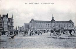 (59) Dunkerque - Le Casino Et La Plage - Dunkerque