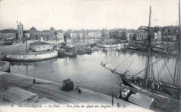 (59) Dunkerque - Le Port - Vue Prise Du Quai Des Anglais 1914 - Dunkerque
