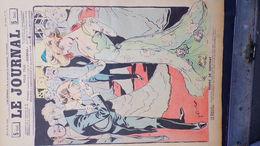 75- PARIS-REVUE LE JOURNAL-10 MAI 1900-ILLUSTRATEUR F. BAC-SOIREE CONTRAT FIANCAILLES- FIANCEE-SANDY HOOK-HUARD-ALB JACK - Books, Magazines, Comics