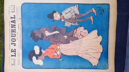 75- PARIS-REVUE LE JOURNAL-3 MAI 1900-ILLUSTRATEUR ALB JACK - BELLE ELEGANTE- BUGNARD-RICARDO FLORES-D'ESPAGNAC - Books, Magazines, Comics
