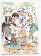 Illustrateur Bouret Germaine MOSIEUR LE MINISTRE --2 Scannes   -A3 - Bouret, Germaine