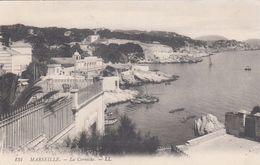 Cp , 13 , MARSEILLE , La Corniche - Endoume, Roucas, Corniche, Strände