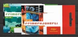 2003 MNH Iceland, Europa Postfris - Cuadernillos/libretas