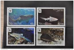 G 161 ++ NIUAFO OU 2012 WWF SHARKS HAAI ++  MNH ** - Tonga (1970-...)