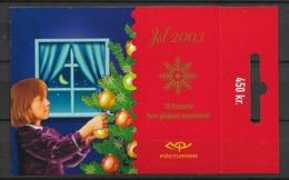 2003 MNH Iceland, Christmas,  Postfris - Cuadernillos/libretas