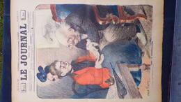 75- PARIS-REVUE LE JOURNAL-26 AVRILI 1900-ILLUSTRATEUR ABEL FAIVRE- CHIROMANCIENNE-CHIROMANCIE-VOYANTE-MAGE-WEILUC- - Books, Magazines, Comics