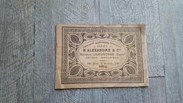 Livret Ancien Broderie Alphabets Variés Alexandre Lajeunesse N°230 Paris Point De Croix Mode - Fashion