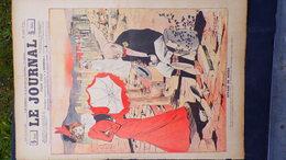 75- PARIS-REVUE LE JOURNAL-19 AVRIL 1900-ILLUSTRATEUR PREJELAN-VOYAGE DE NOCES-MARIAGE- SANDY HOOK-WEILUC-AUBRY-FLORES - Books, Magazines, Comics