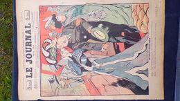 75- PARIS-REVUE LE JOURNAL-12 AVRIL 1900-ILLUSTRATEUR F. BAC- RETRAITE HUARD-ALPHA DU CYGNE-MAURICE BIAIS-RADIGUET - Books, Magazines, Comics