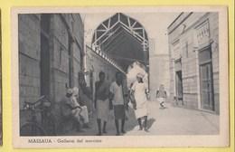 ERYTHREE Massua Galleria Del Mercato - Erythrée