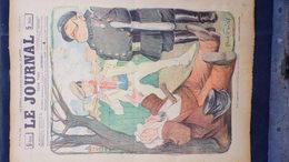 75-PARIS-REVUE LE JOURNAL-15 MARS 1900-ILLUSTRATEUR ABEL FAIVRE-POLICE GENDARME -OMNIBUS- GEORGE DELAW-HUARD-BIAIS - Books, Magazines, Comics