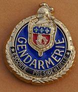W 255 )......BLASON   GENDARMERIE....ESCORTE  PRESIDENTIELLE - Police