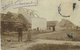 PIE 17-T-7937 : CARTE PHOTO DE CRAVANT APRES LE CYCLONE - France
